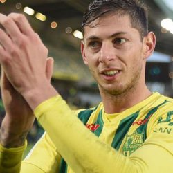 Cardiff city record signing player from Nantes disappears in the Air while flying to Cardiff.