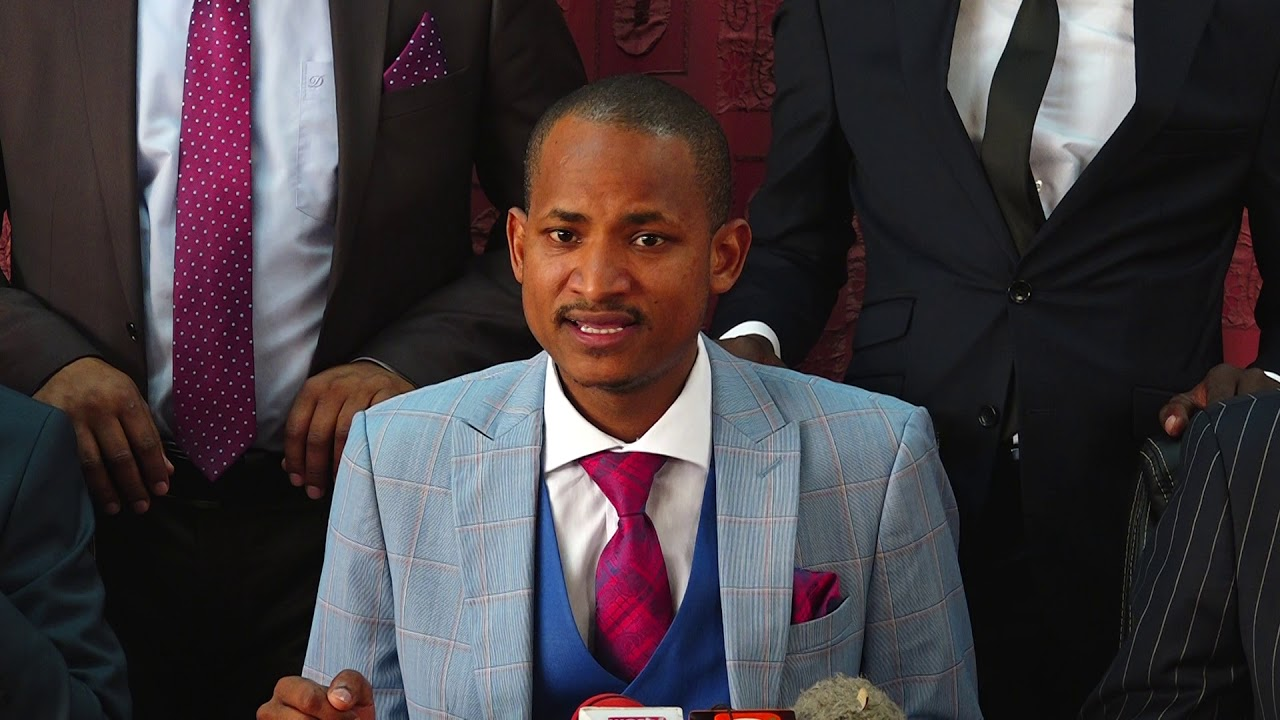 Image result for Babu OwINO Laughing