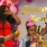 Dennis Okari attends daughter birthday only for Betty Kyalo to break into tears - Sunset Kenya