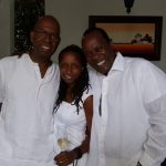 Bob Collymore's wife heavily pregnant for Jeff Koinange - Sunset Kenya
